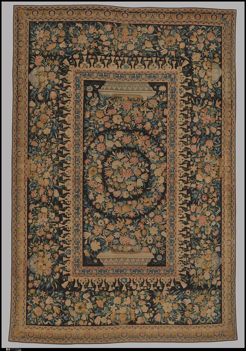 Savonnerie Manufactory Carpet Tapis French Paris The Met