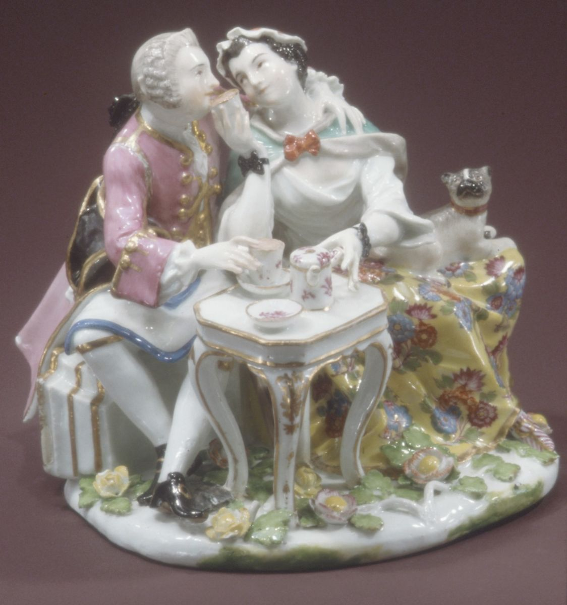 Johann Joachim Kändler Couple Drinking Chocolate German,