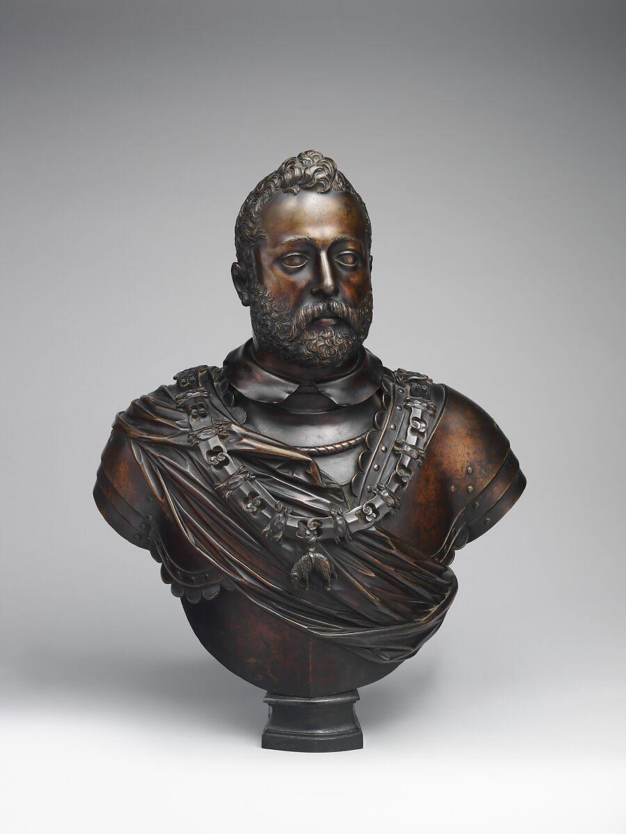 Francesco I de' Medici (1541–1587), Grand Duke of Tuscany, After a model by Giambologna (Netherlandish, Douai 1529–1608 Florence), Bronze, Italian, Florence