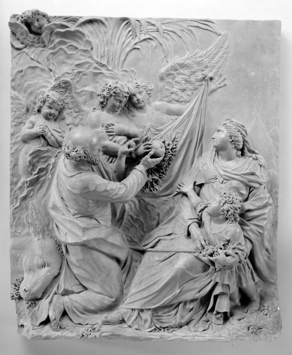 Giovanni Maria Morlaiter   The Flight Into Egypt   Italian, Venice   The Met