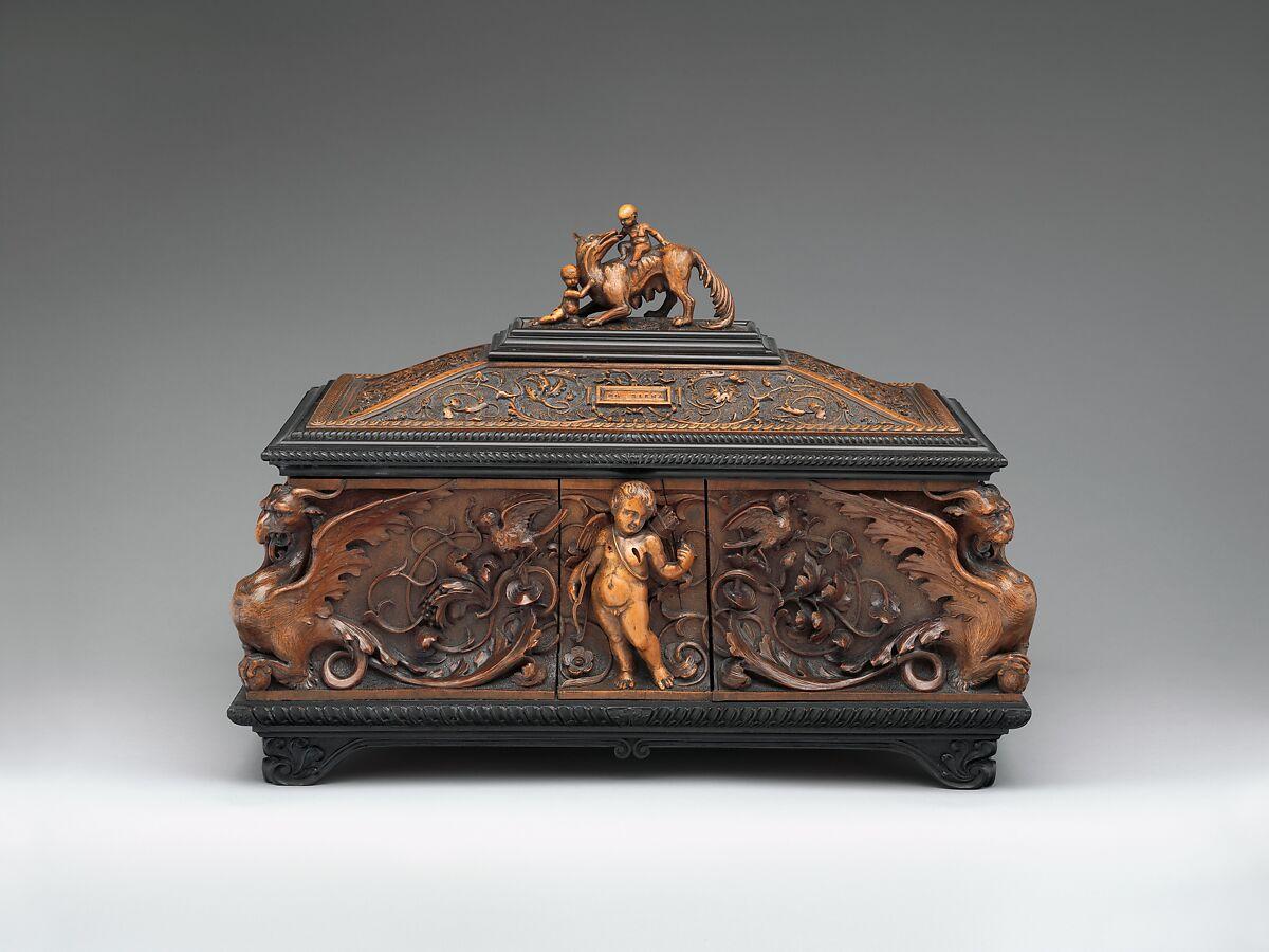 Pietro Giusti Jewelry Casket Italian Siena The Met