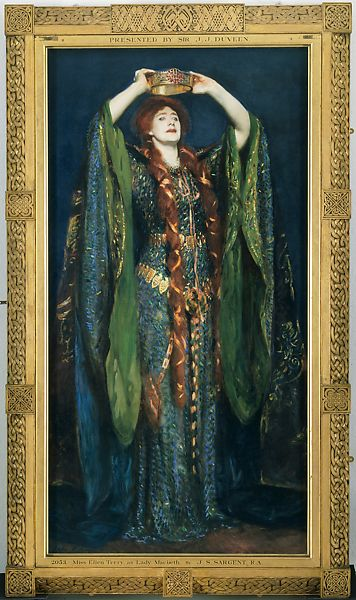 John Singer Sargent Ellen Terry As Lady Macbeth