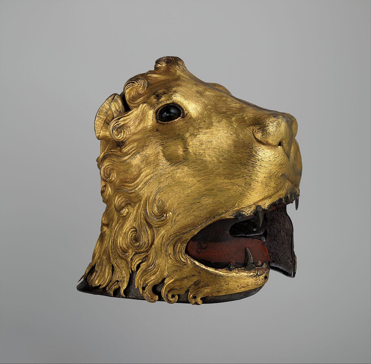 Sallet in the Shape of a Lion's Head | Italian | The Met