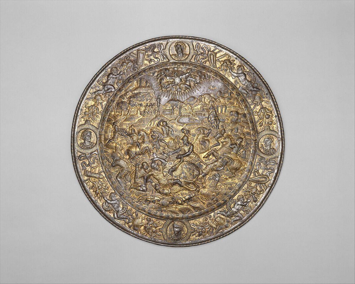 Parade Shield Depicting the Conversion of Saint Paul | Italian, Milan | The Met