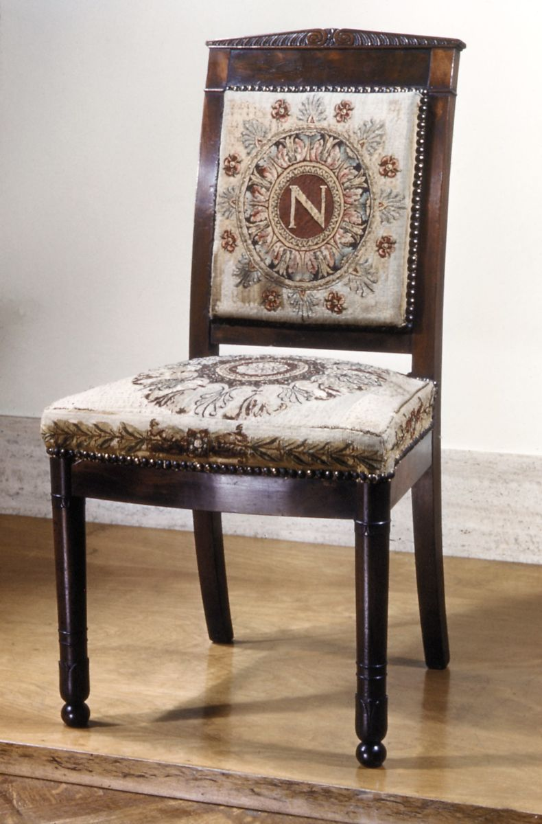 Chair (one Of A Pair), Tapestry Upholstery By Beauvais, Mahogany, Tapestry