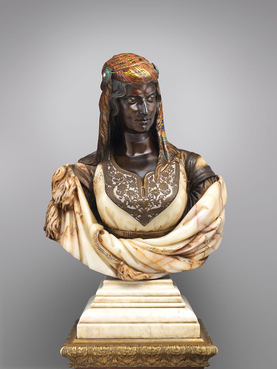 Charles-Henri-Joseph Cordier | The Jewish Woman of Algiers | French, Paris | The Met