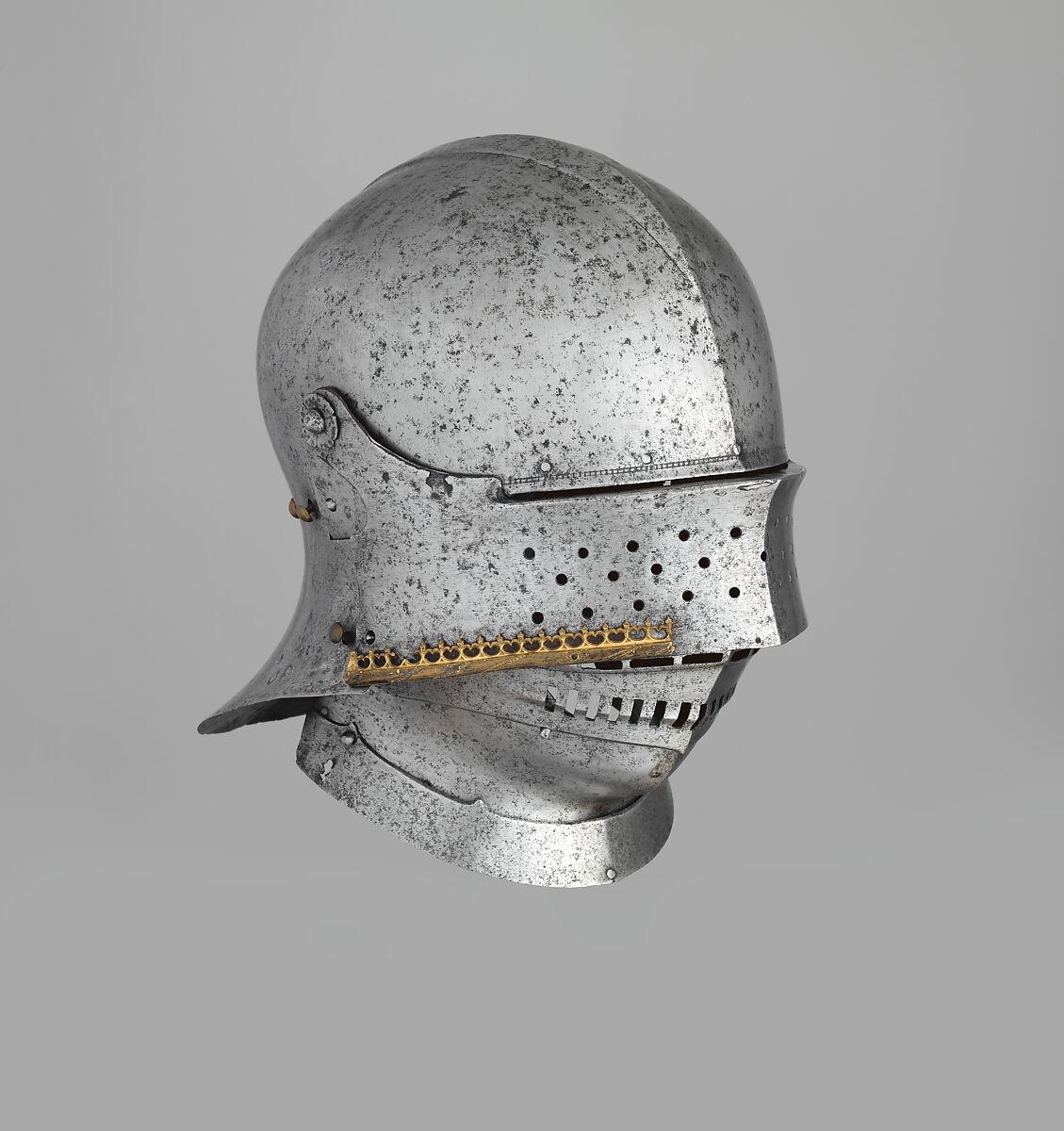 Attributed to Lorenz Helmschmid | Sallet of Emperor