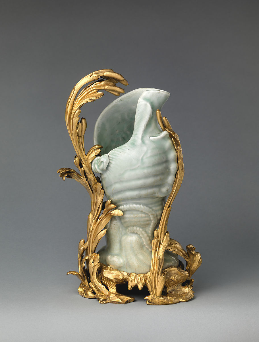 Ewer in the form of a conch shell | Japanese with French mounts | The Met