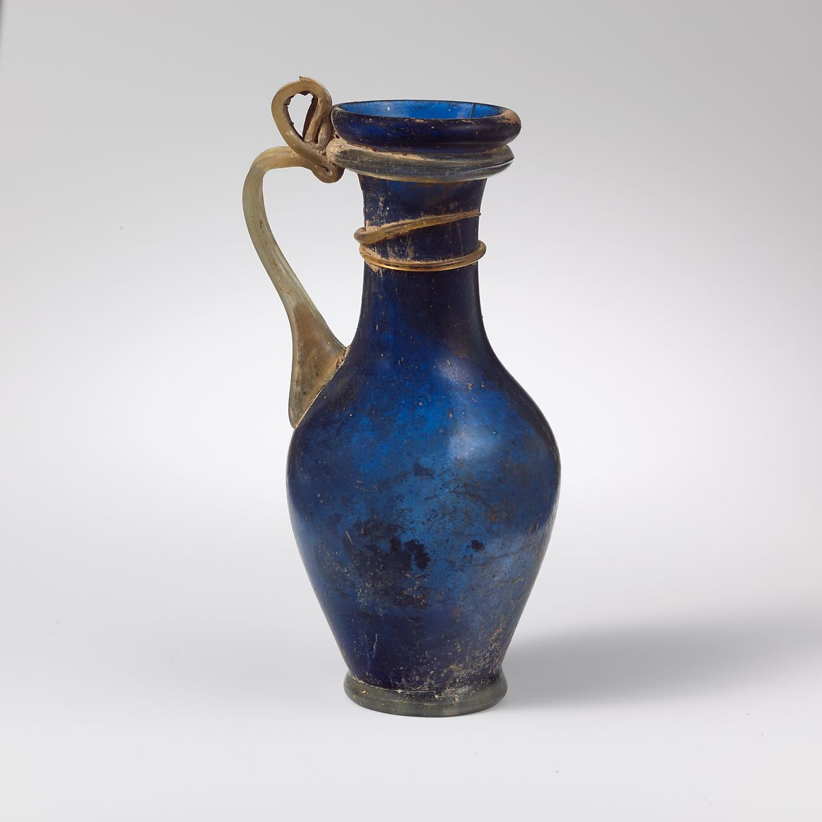 Glass jug | Roman, Rhenish | Late Imperial | The Met