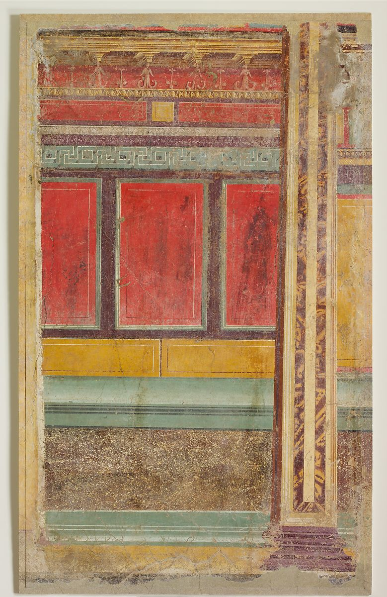 Wall painting from Room F of the Villa of P. Fannius Synistor at Boscoreale | Roman | Late Republican | The Met