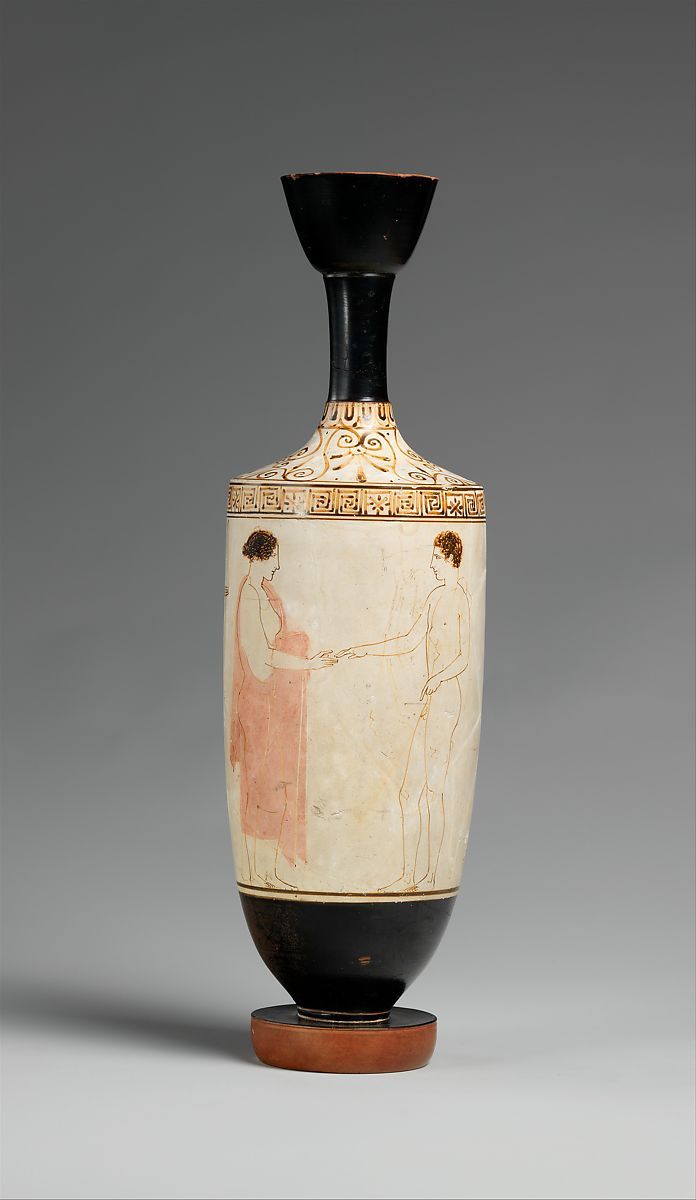 Attributed to the achilles painter terracotta lekythos oil flask terracotta lekythos oil flask attributed to the achilles painter terracotta greek m4hsunfo