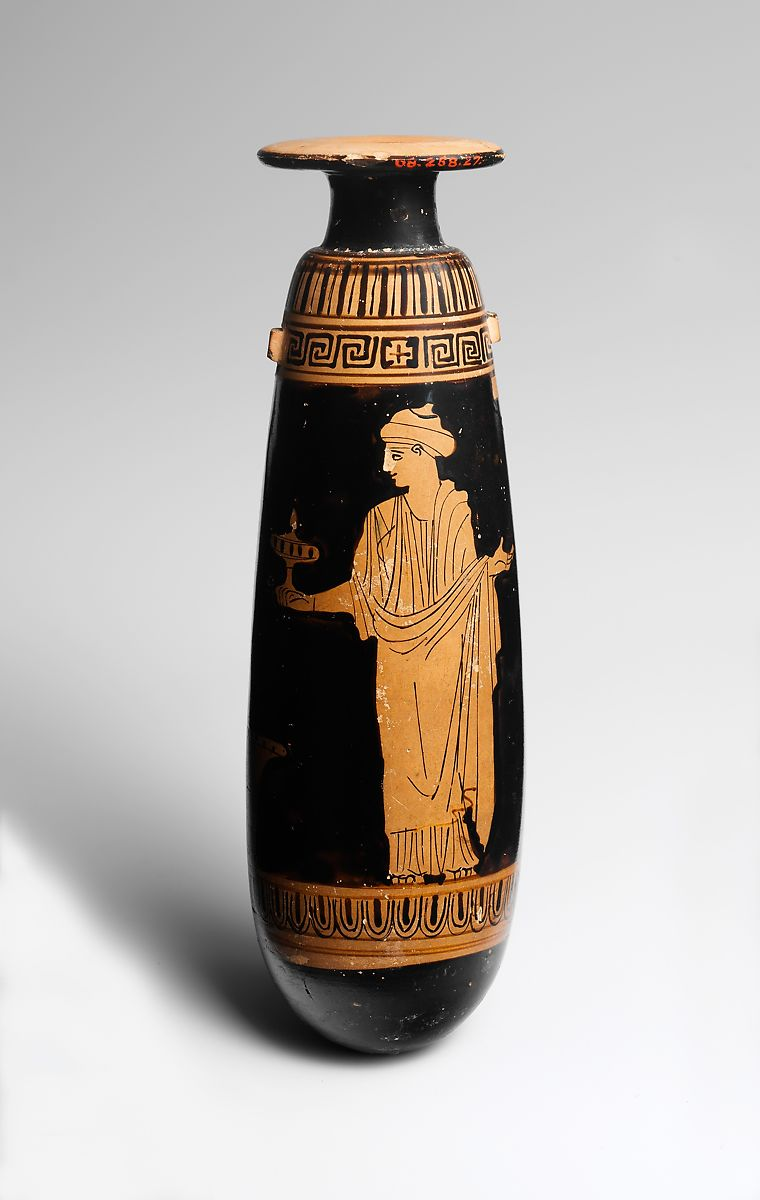 Attributed The Persephone Painter Terracotta