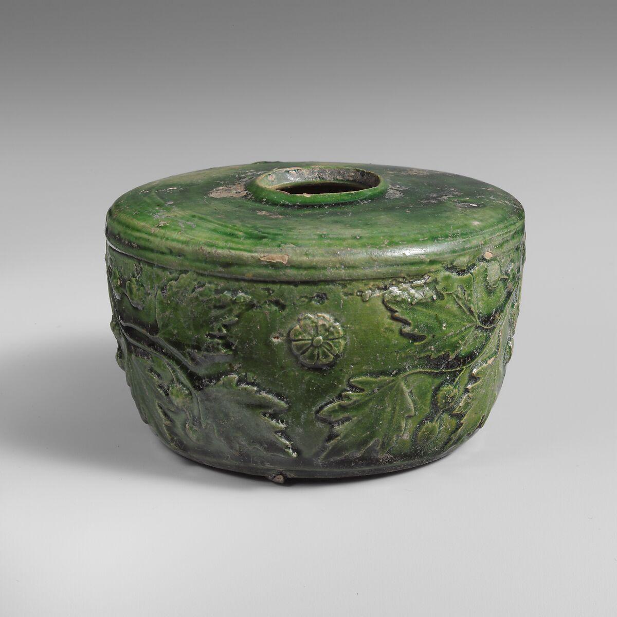 Terracotta atramentarium (inkwell), Terracotta, Roman