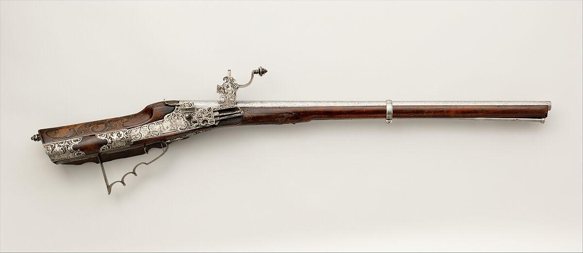 Wheellock Gun   German, Dingolfing, Bavaria   The Met
