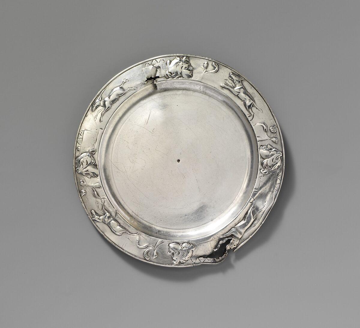 Silver Plate Roman Imperial The Metropolitan Museum Of Art
