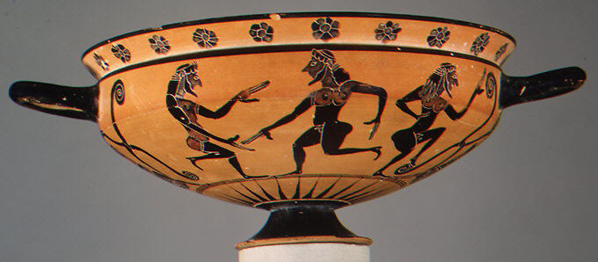 Attributed To The Manner Of The Kx Painter Terracotta Kylix