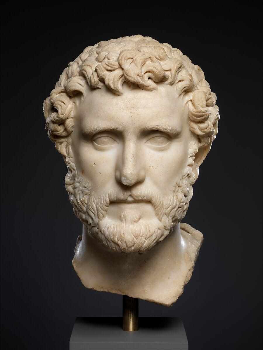 Marble portrait of the emperor Antoninus Pius | Roman | Antonine | The Met