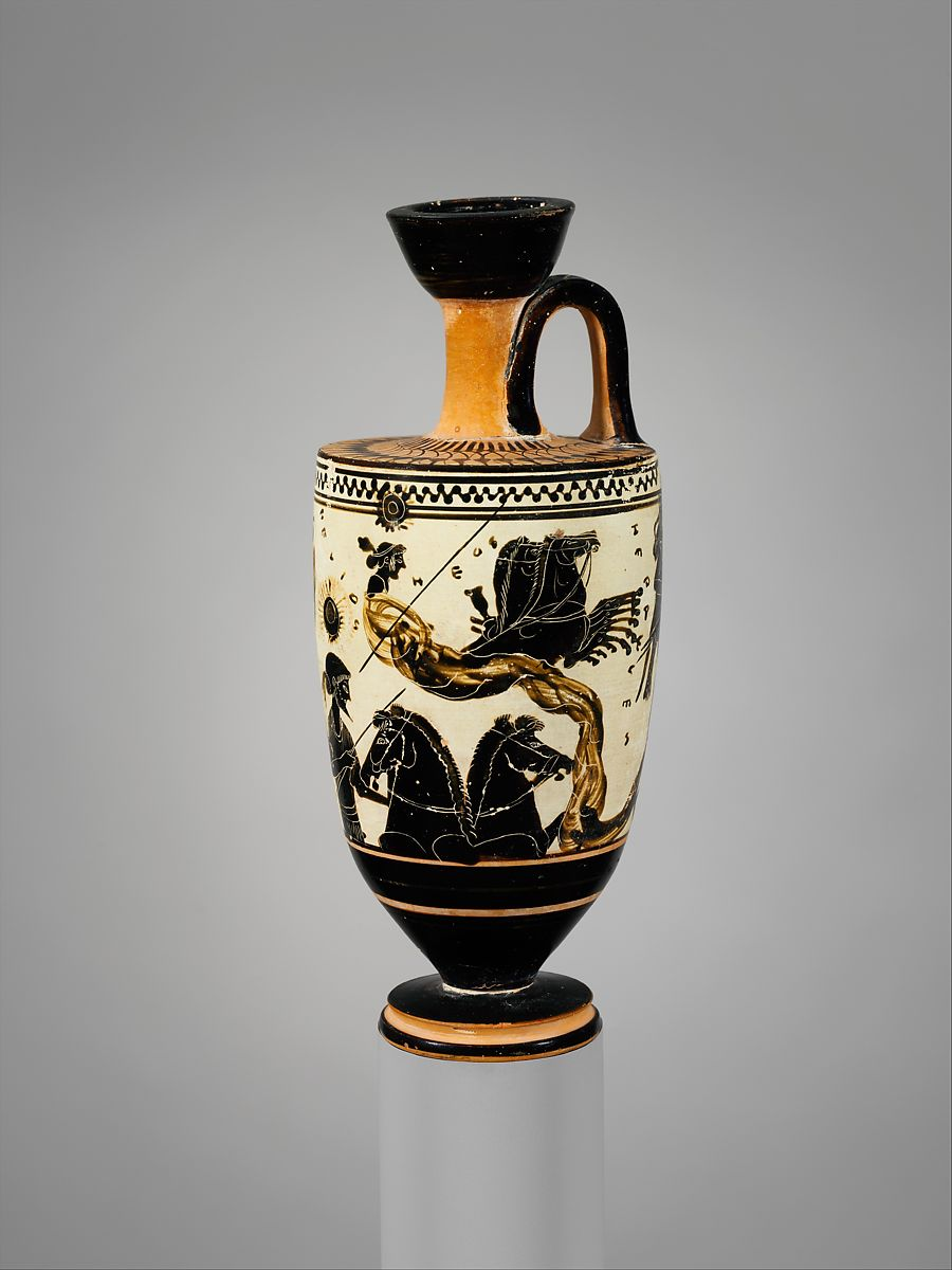 Sun Goddess Vase