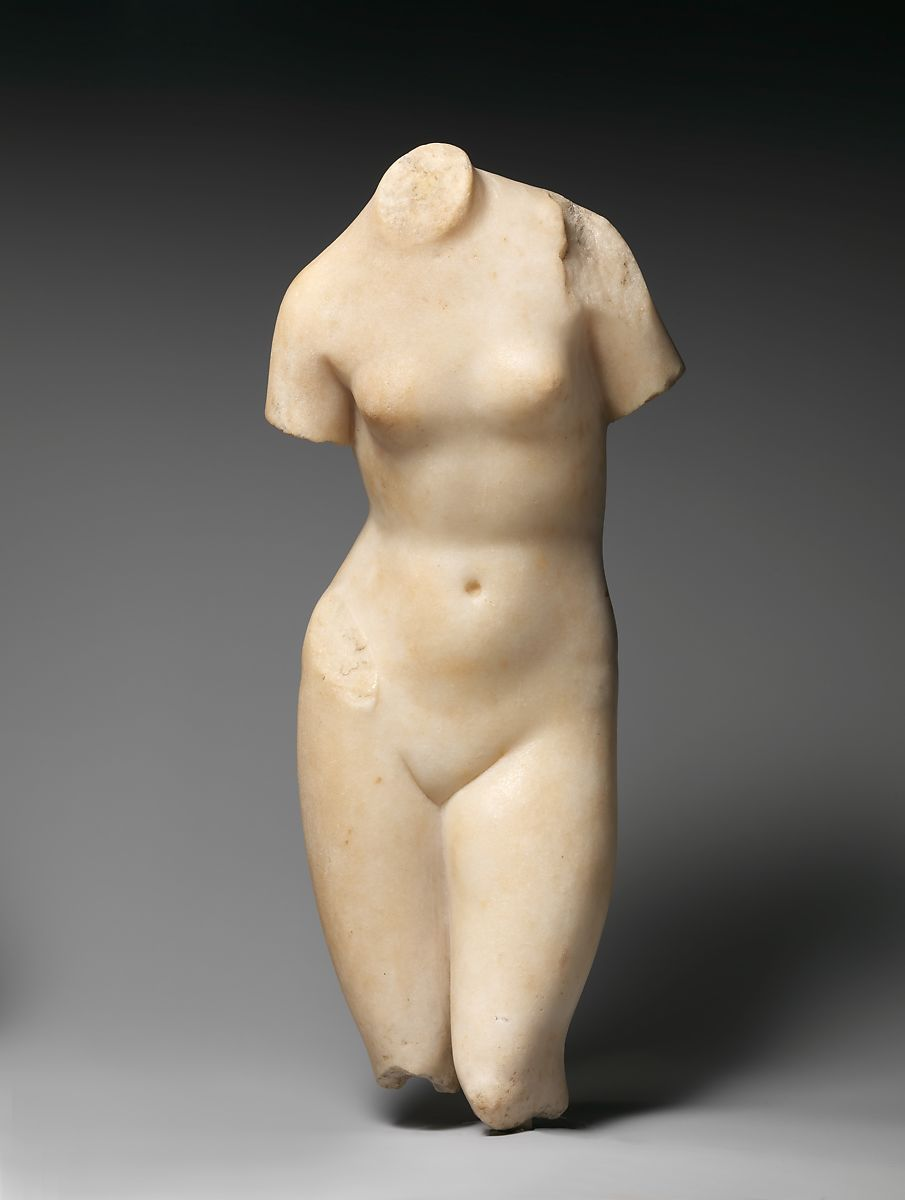 Marble statuette of Aphrodite | Roman | Imperial | The Met