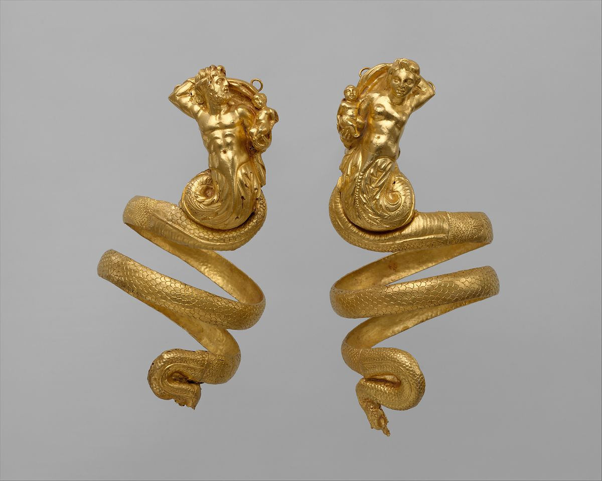 Pair of Gold Armbands