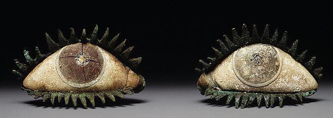 Pair of eyes | Greek | Classical | The Met