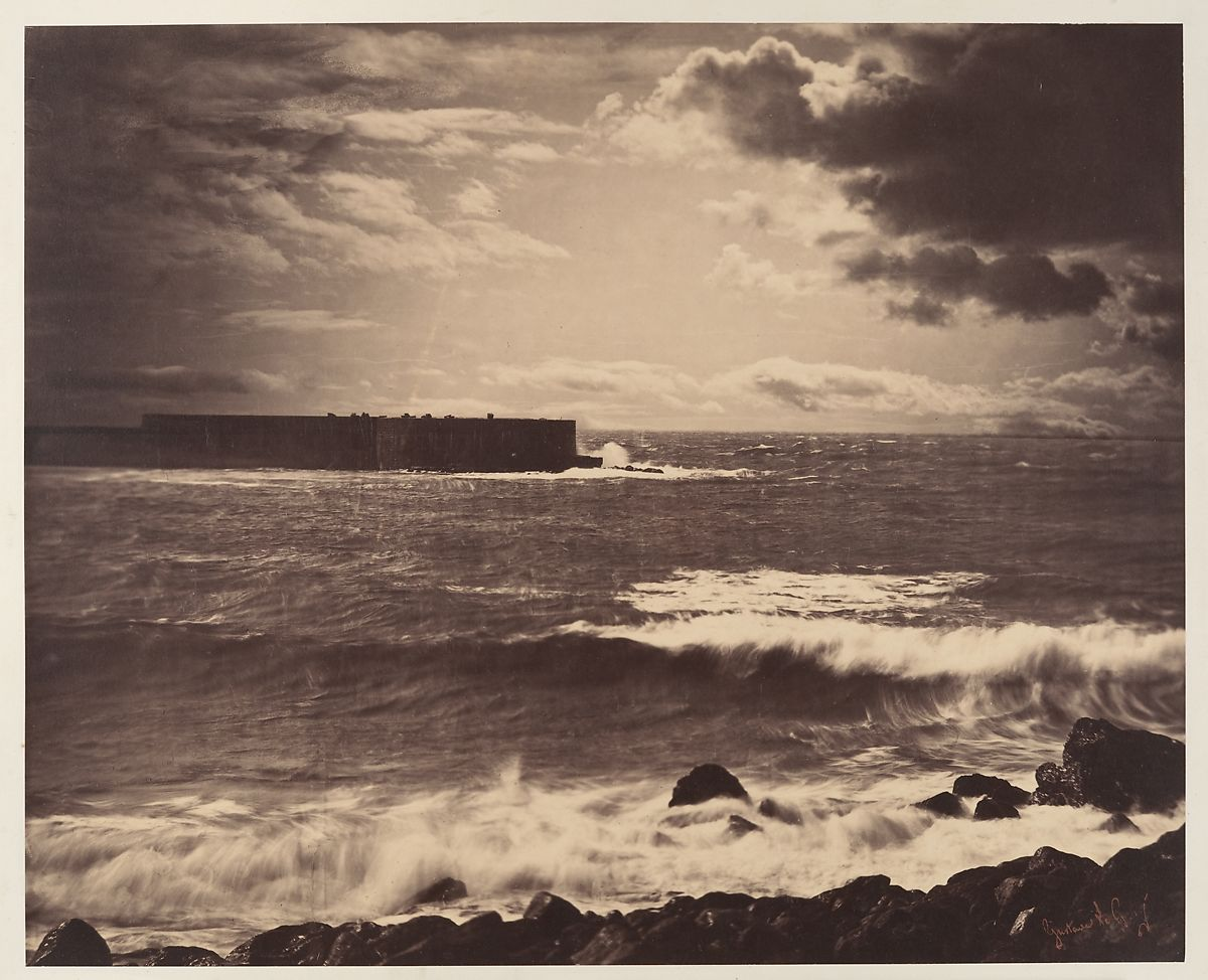 Gustave Le Gray | [The Great Wave, Sète] | The Met