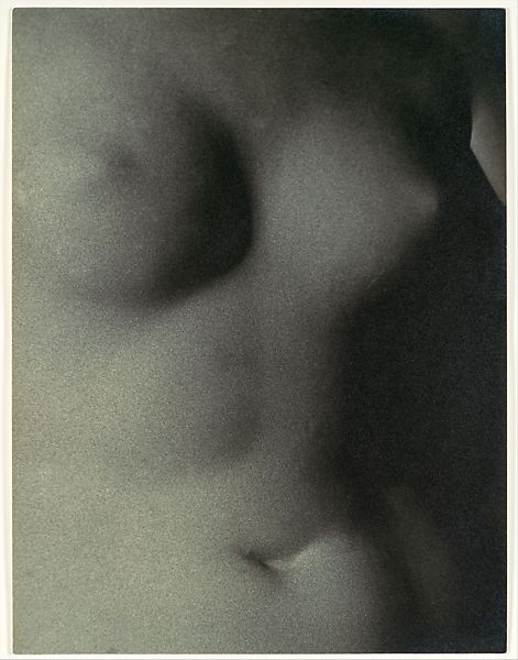 Man Ray | [Plaster Cast of a Nude Female Torso] | The Met