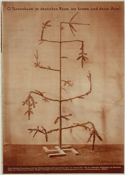 O Christmas Tree In German.John Heartfield O Tannenbaum Im Deutscen Raum Wie Krumm