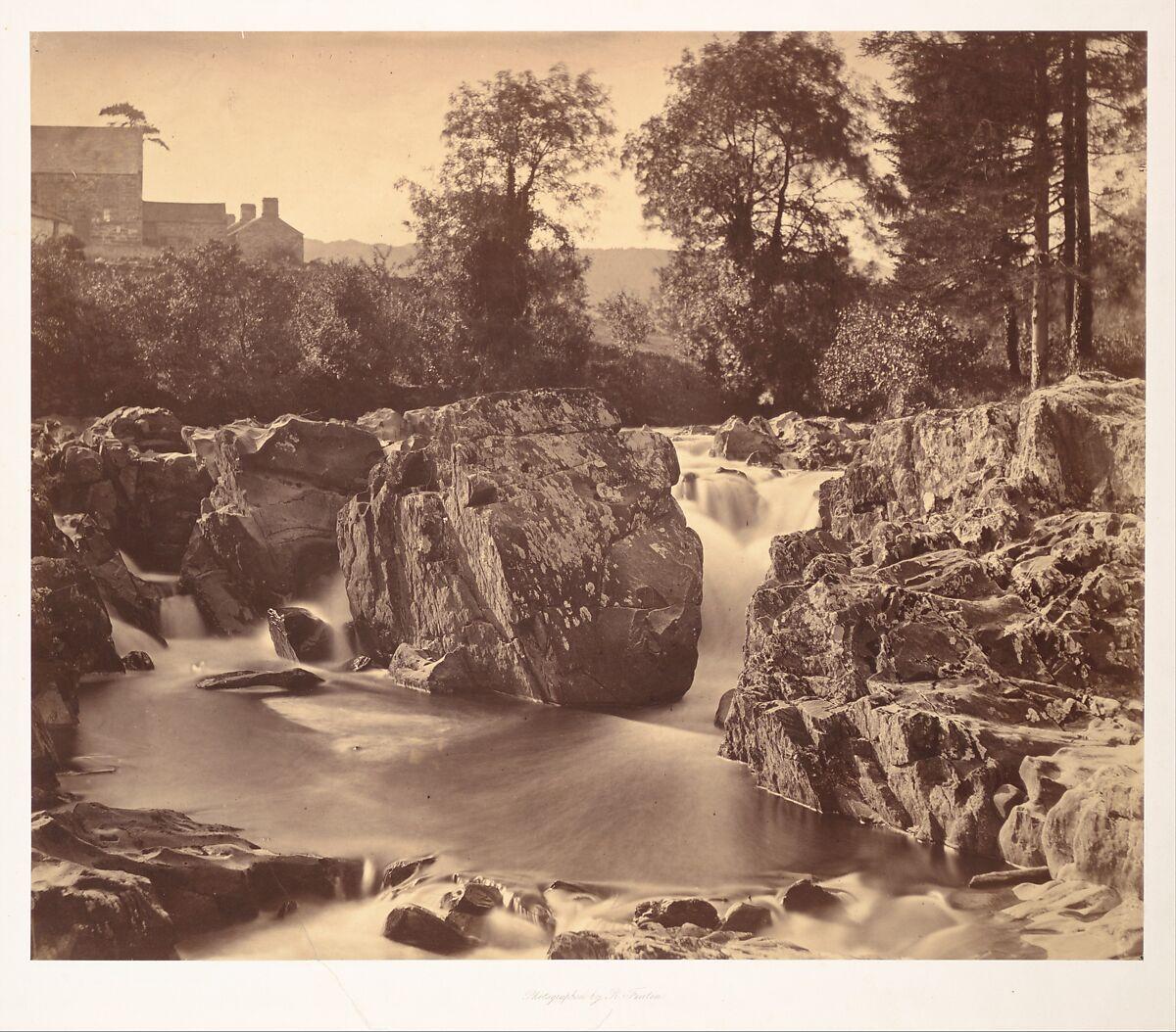 Falls of the Llugwy, at Pont-y-Pair