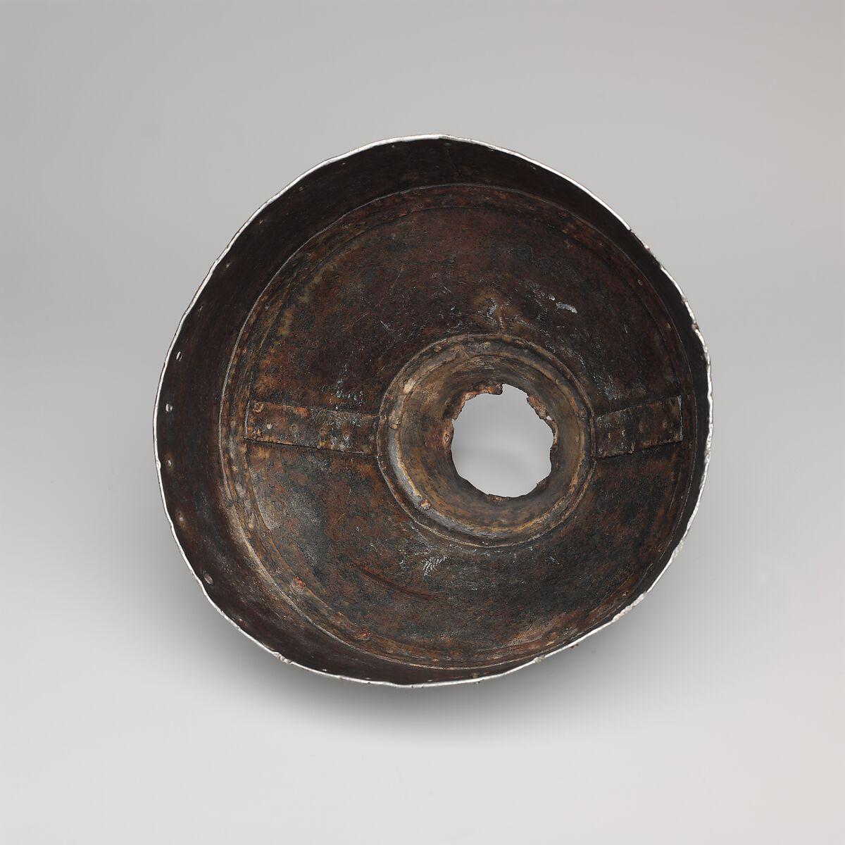 Helmet (rmog), Iron, gold, silver, copper, Mongolian