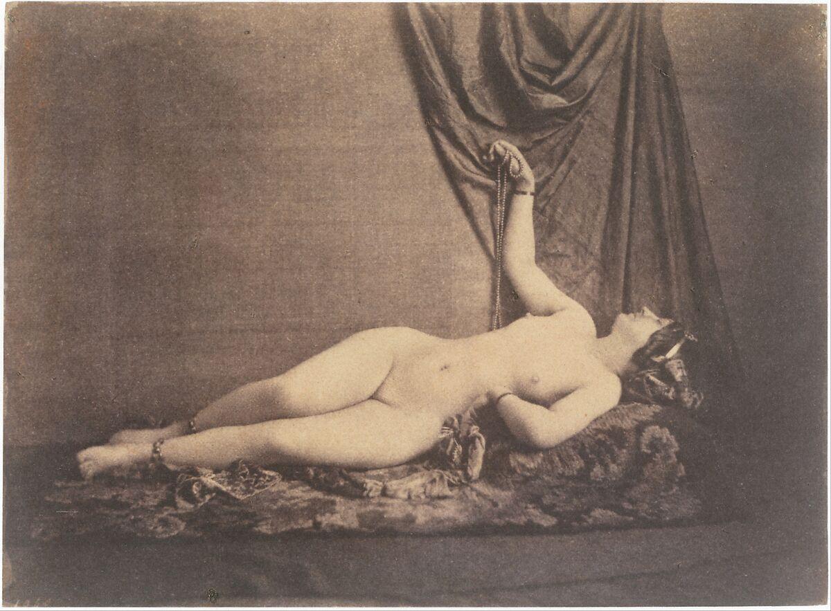 Julien Vallou de Villeneuve   [Reclining Female Nude]   The Met