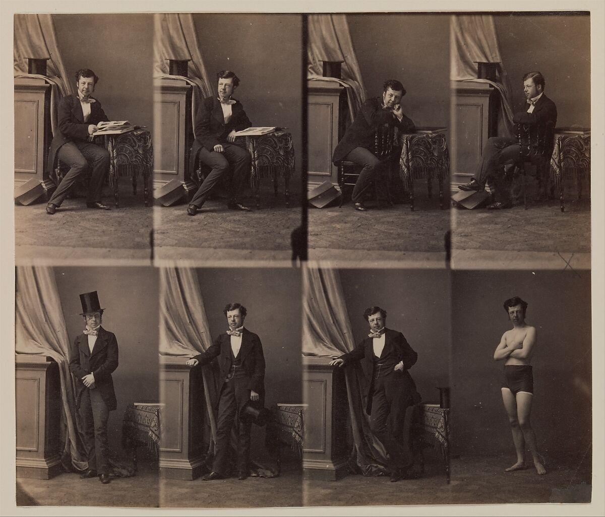 Prince Lobkowitz Andr Adolphe Eugne Disdri French Paris 1819 1889