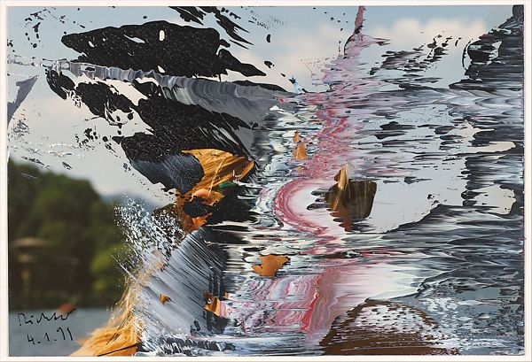 Gerhard Richter | Untitled 4/1/91 | The Met