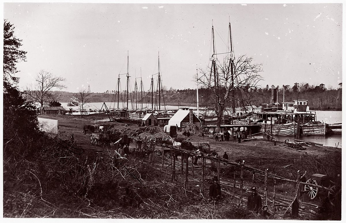 William Frank Browne   Obstructions in James River near Drewry's Bluff   The Met