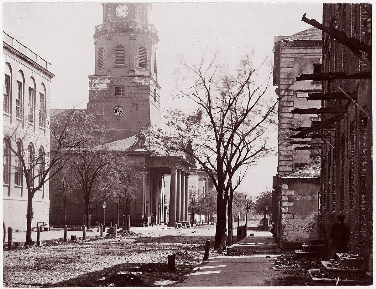 George N. Barnard | St. Michael's Church, Charleston, S.C. | The Met