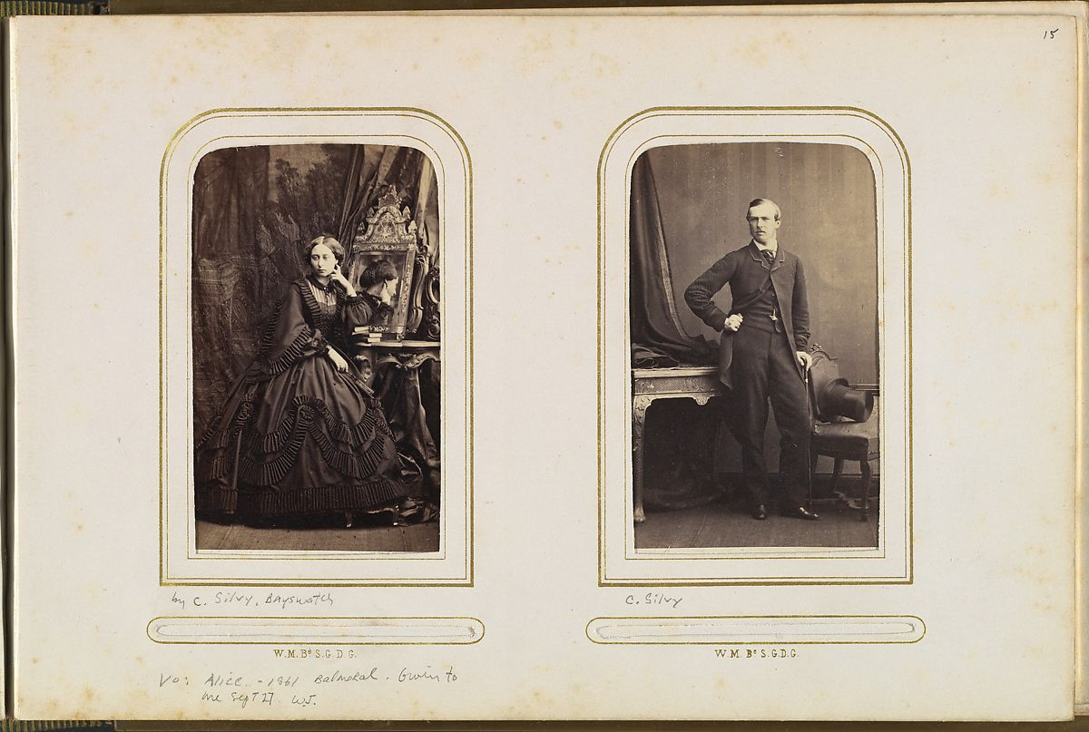 Page 15 Princess Alice In Mourning Dress 1861 Louis IV Grand