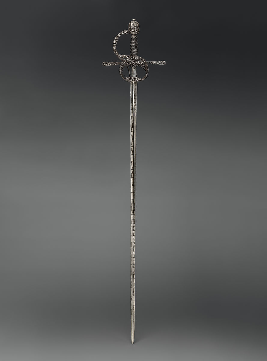 Pietro de Formicano | Rapier | hilt, Northern European, possibly German; blade, Italian, Belluno | The Met