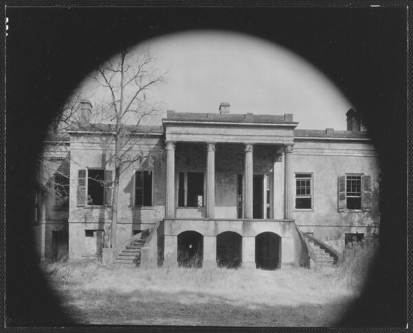 Walker Evans | [Hermitage Plantation House, Near Savannah ...