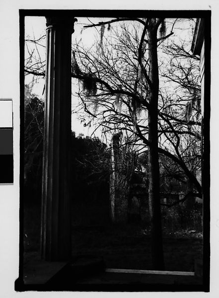 Walker Evans | [Brick Slave Cabin from Plantation House ...