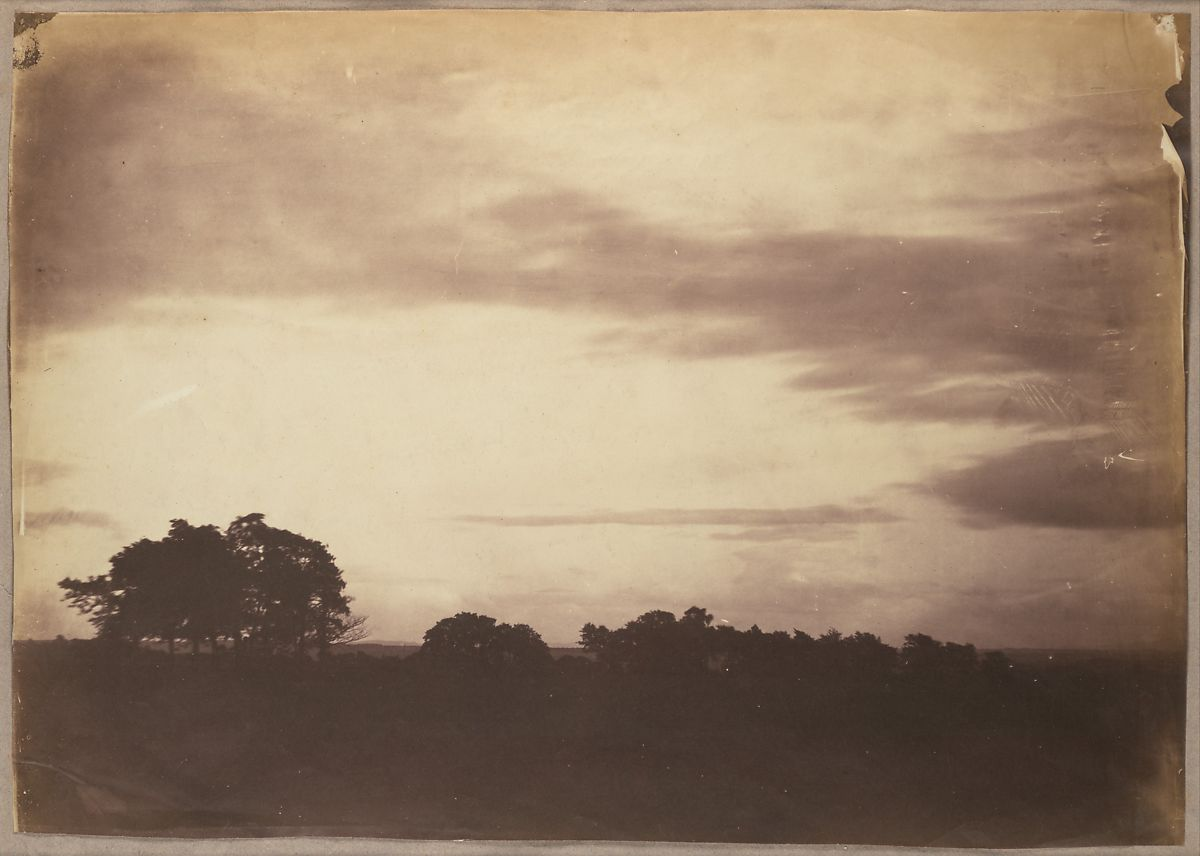 Roger Fenton | [Landscape with Clouds] | The Met