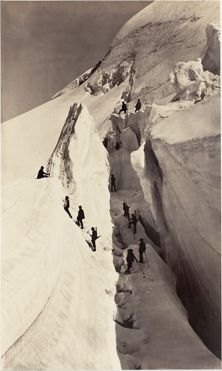 Auguste-Rosalie Bisson | [The Ascent of Mont Blanc] | The Met