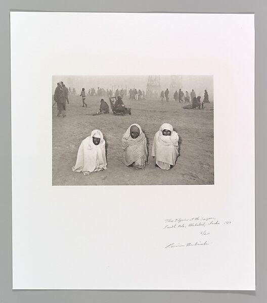 Kevin Bubriski | Three Pilgrims at the Sangam, Kumbh Mela