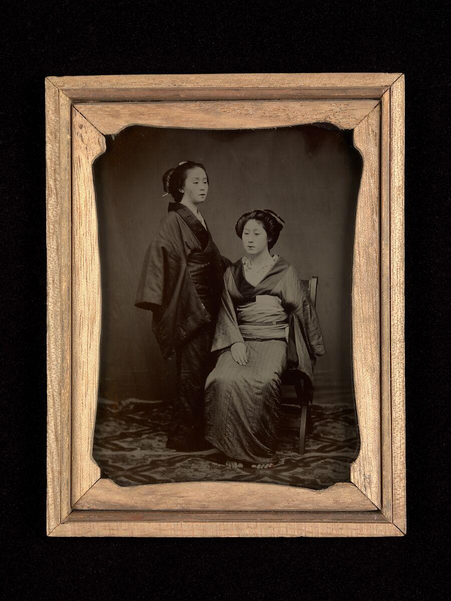 Yokoyama Matsusabur\u014d | [Geisha with Attendant] | The Met
