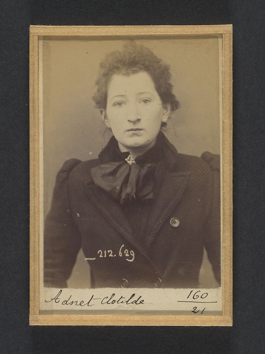 Alphonse Bertillon Mugshots Of Suspected Anarchists From French Police Files The Met