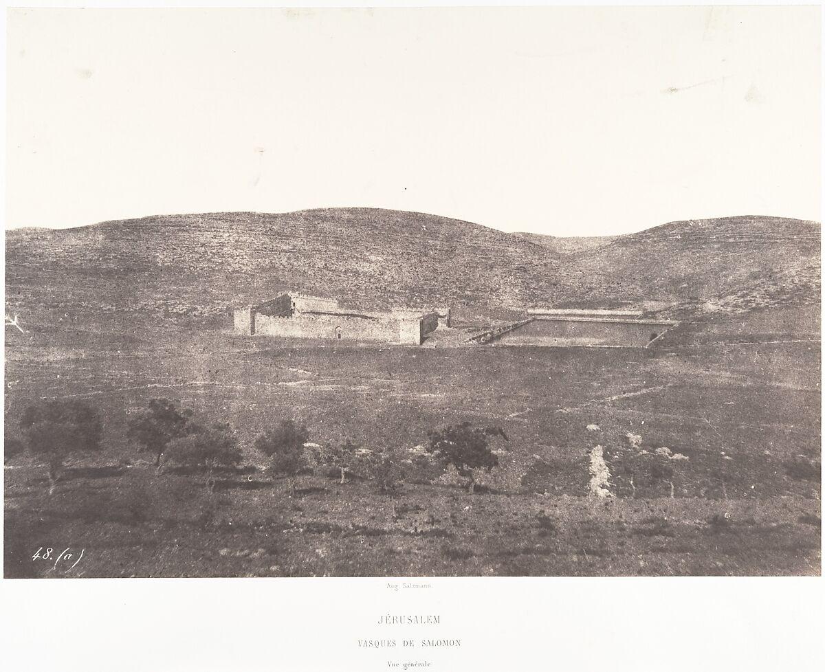 Auguste Salzmann | Jérusalem, Tombeau de Salomon, Vue générale | The Met