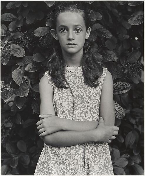 Wendy Rice at Age Twelve, Millerton, New York, Mark Goodman (American, born 1946), Gelatin silver print