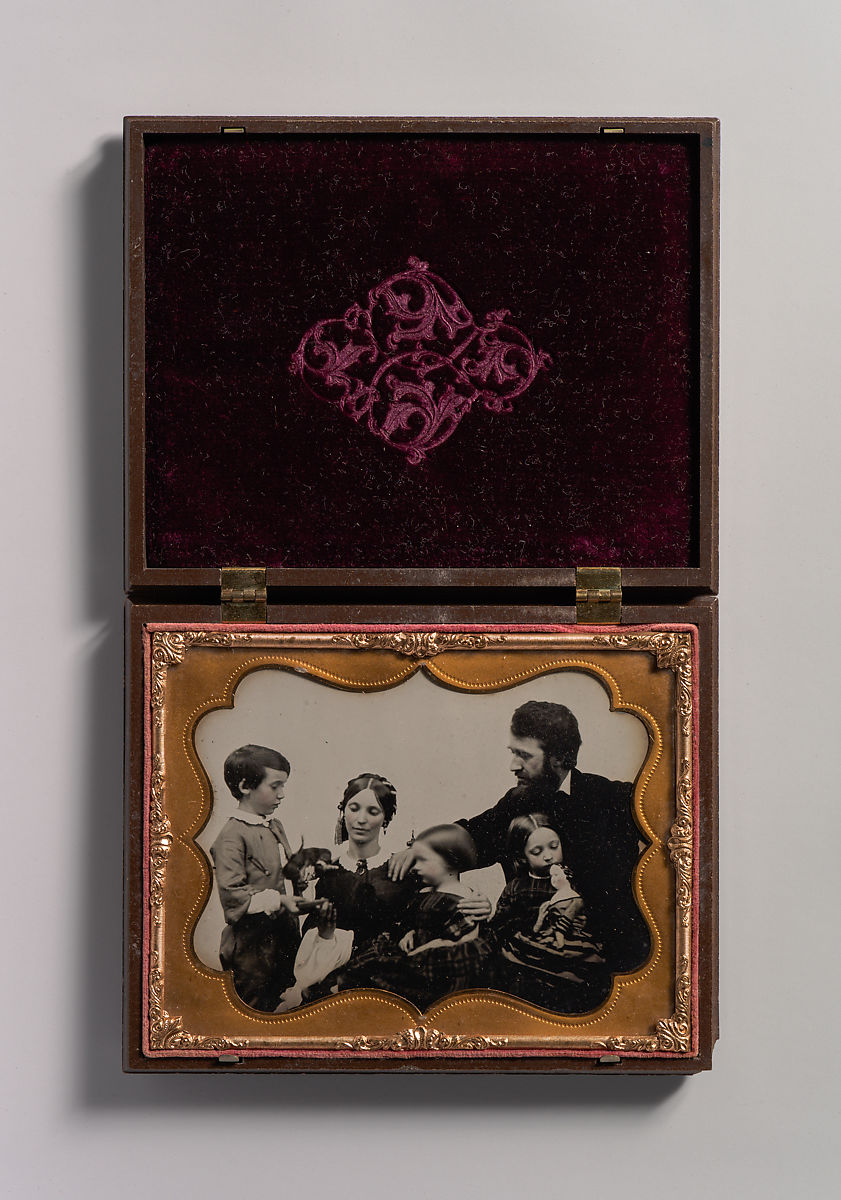 Unknown | [Mother and Father with Three Children, a Boy and Two Girls] | The Met
