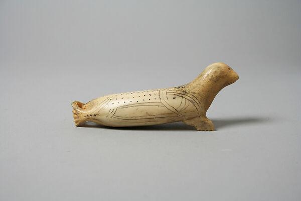 Caribou Antler Horn Seal Inuit The Met