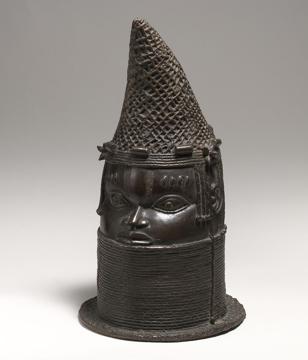 Head of a Queen Mother (Iyoba), Brass, Edo peoples