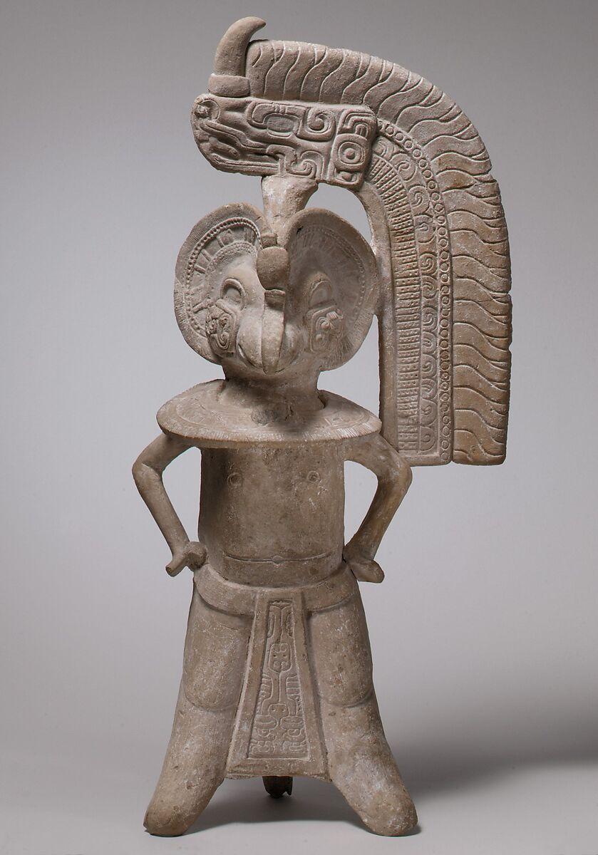 Bird Headed Figure Whistle Veracruz The Met